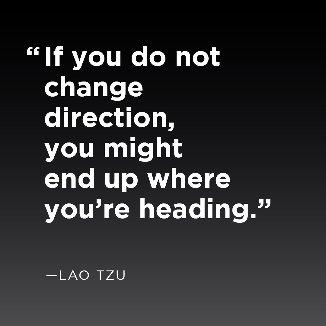 Can you see where you are heading?