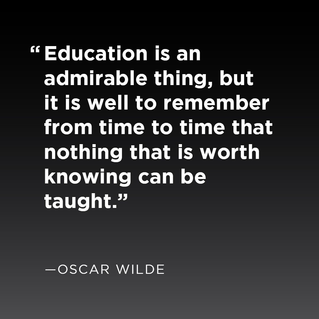 How much is your education worth?