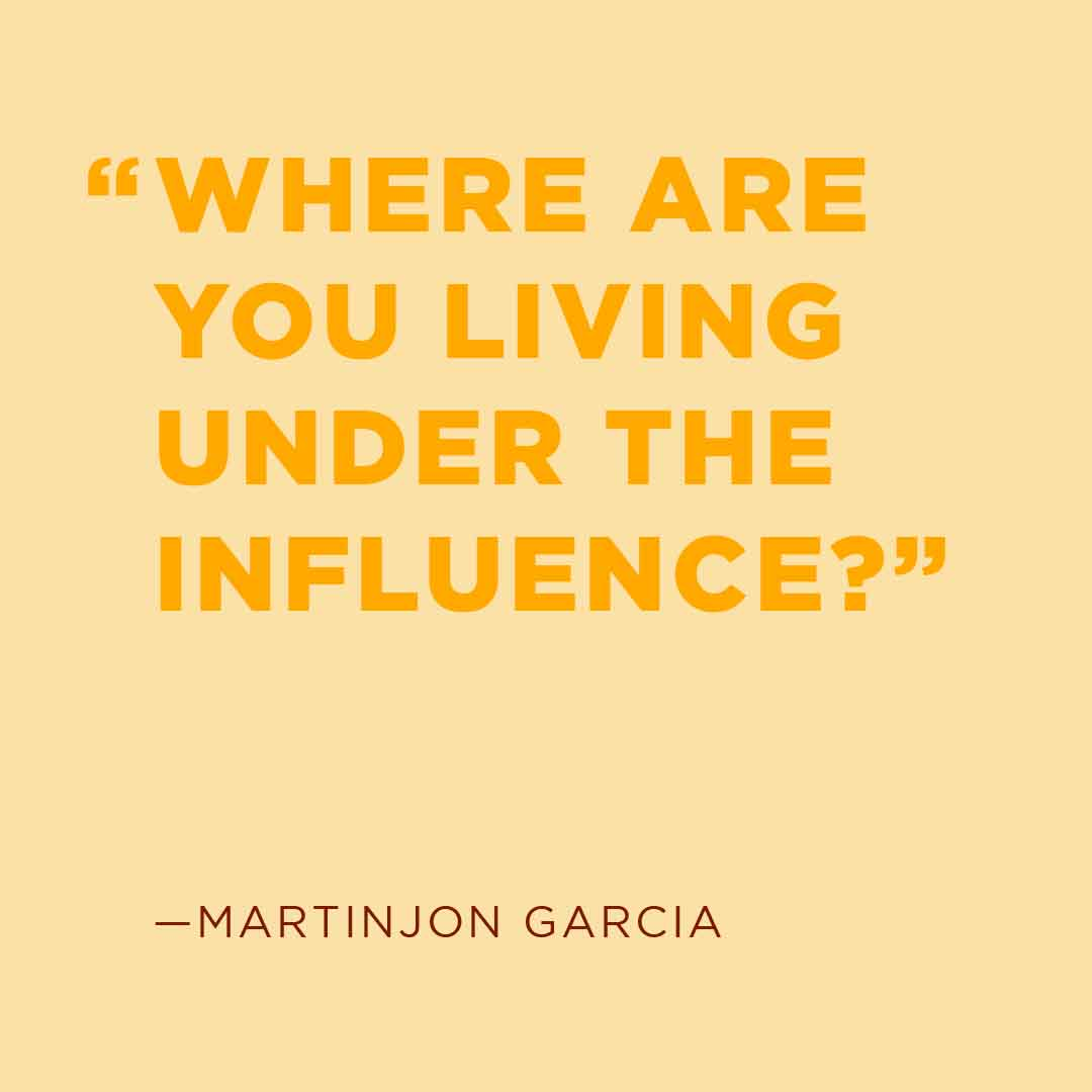 Where are you Living Under the Influence?