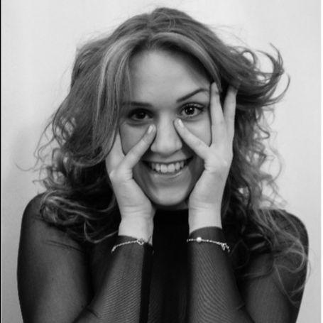A black and white photograph of Zuzanna Wajda