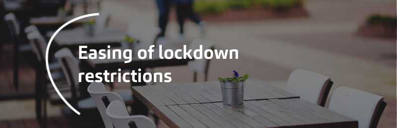 Easing of lockdown