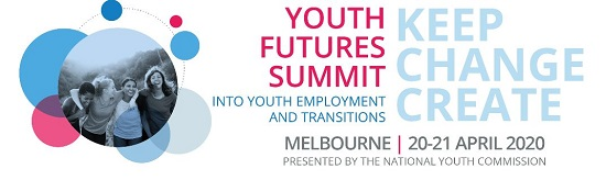 Youth Futures Summit in April 20-21 Melbourne click for more information
