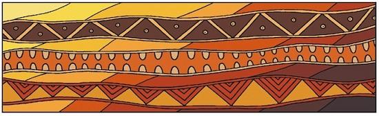 Aobirignal artwork Country by Mandy Nicholson from the Wurunderji Website
