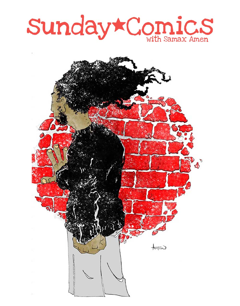 Subscribe to SUNDAY COMICS w/Samax Amen