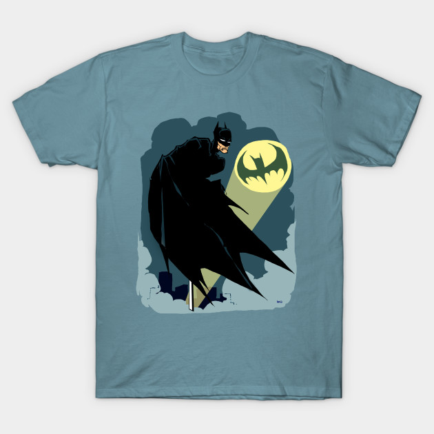 BATSIGNAL TEE SHIRT on TEEPUBLIC