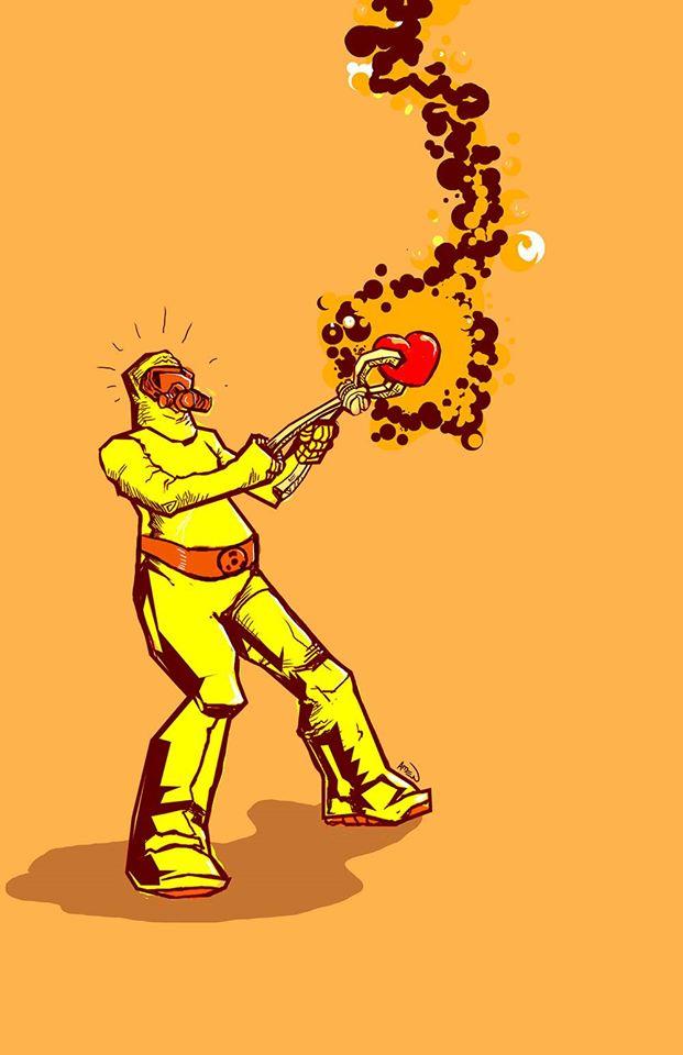 """Radioactive"" by Samax Amen"