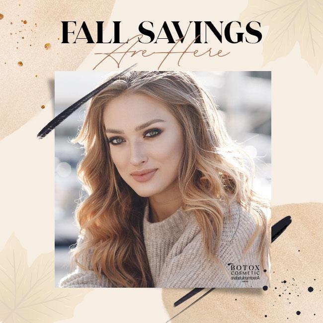 Fall Savings Are Here