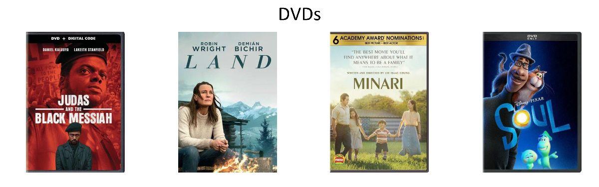 DVDs Ordered April 2021