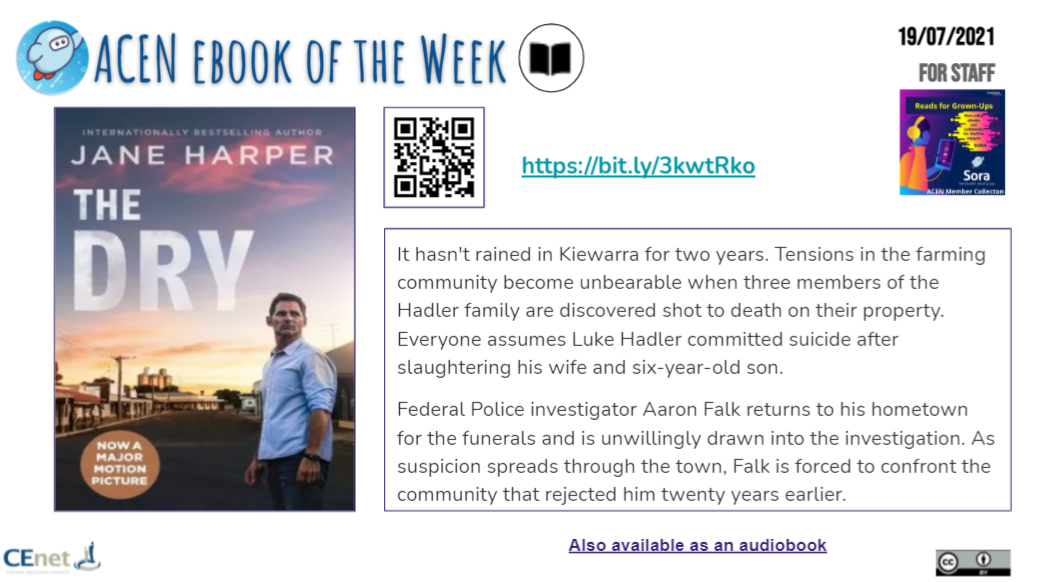 Book of the Week image - Staff