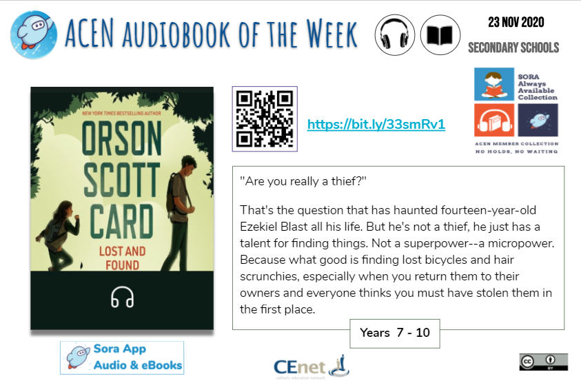 High School Book of the Week Graphic