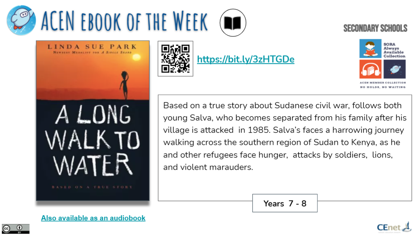Book of the Week, Secondary Students