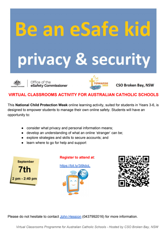 Link to eSafety information in PDF