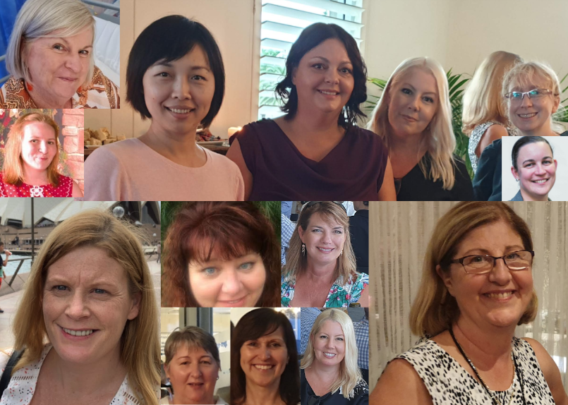 Women who work at CEnet montage
