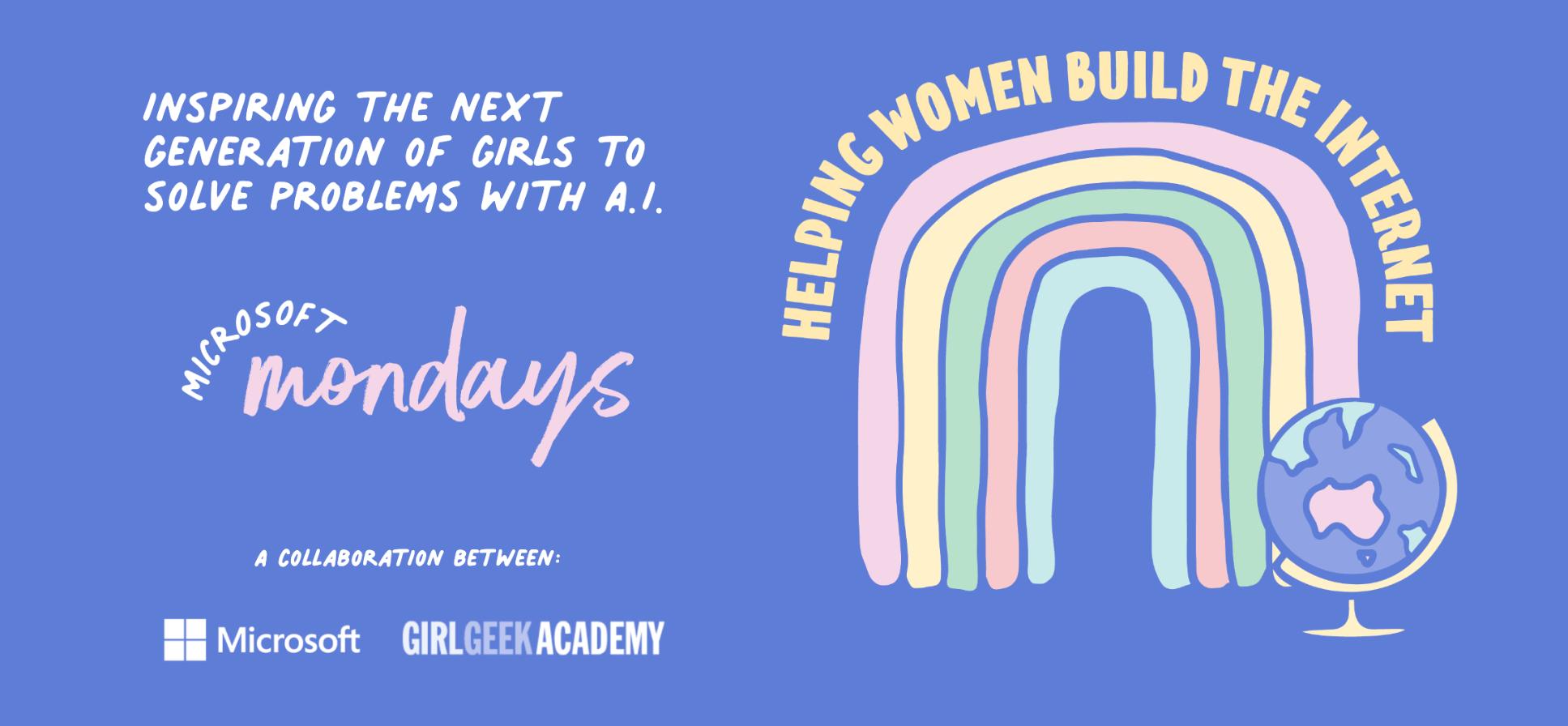 Microsoft Girl Geek Academy banner