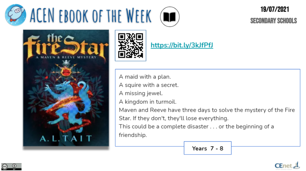 Book of the Week image - secondary students