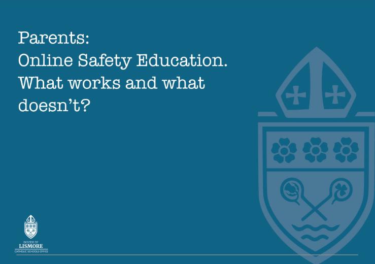 Lismore Diocese online safety eBook for parents