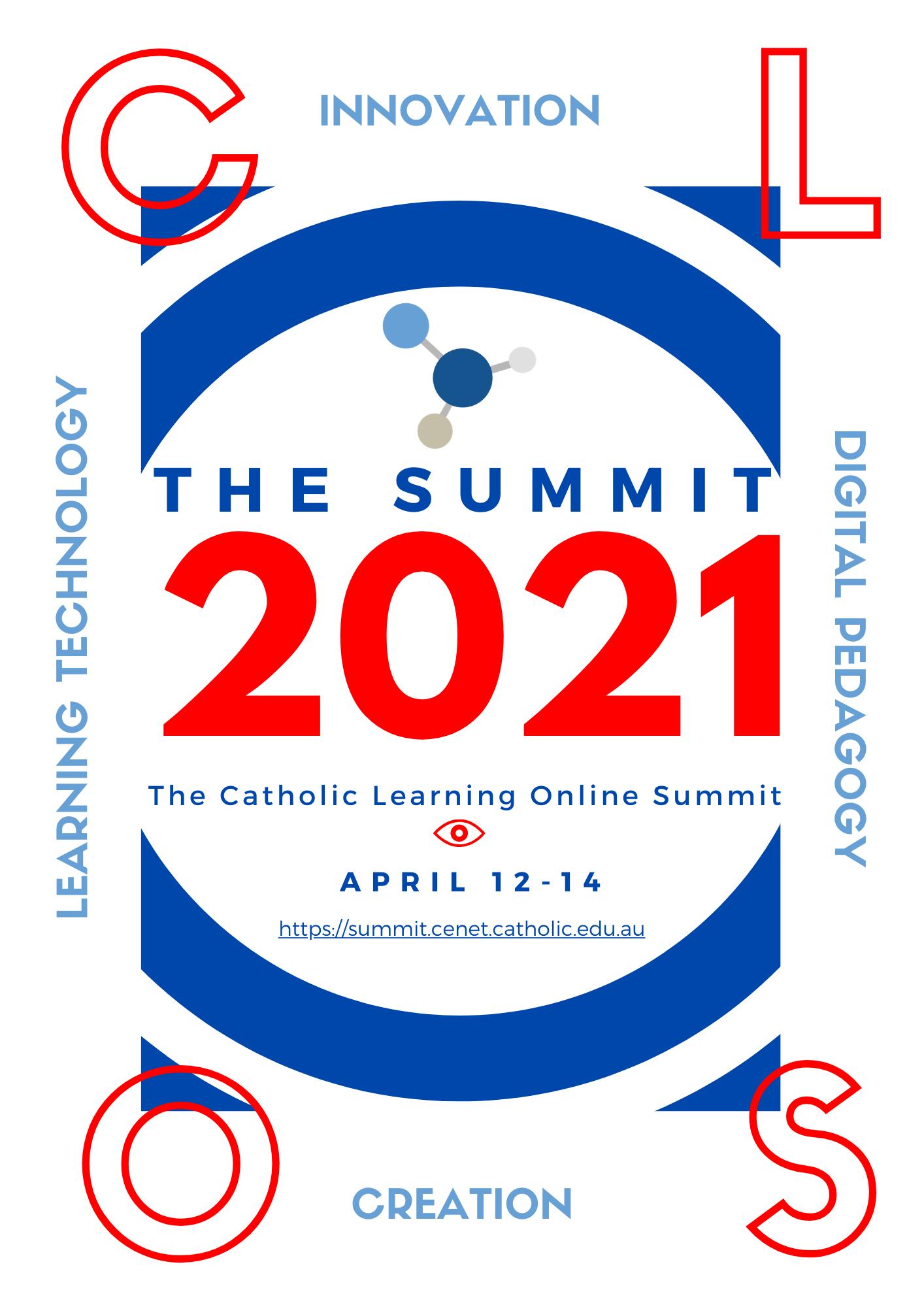 Catholic Learning Online Summit 2021 graphic