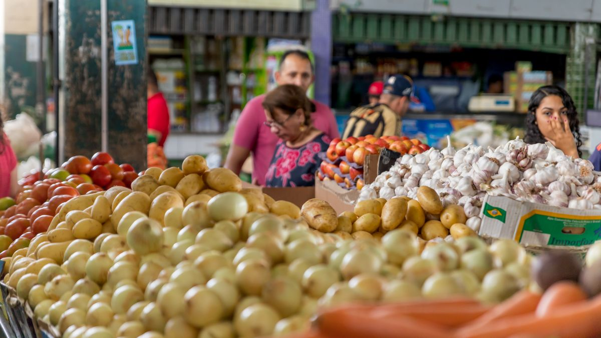 Fruit and vegetable market in Fortaleza