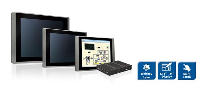Spectra PowerTwin- Panel-PC mit Whisky Lake