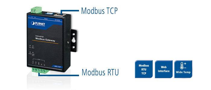 IMG-110T - Modbus TCP-RTU-Gateway