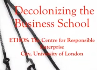 Decolonizing the Business School Graphic