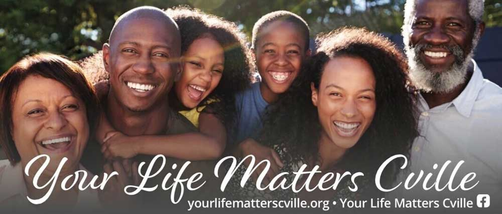 Your Life Matters Cville - Vaccines for BIPOCr