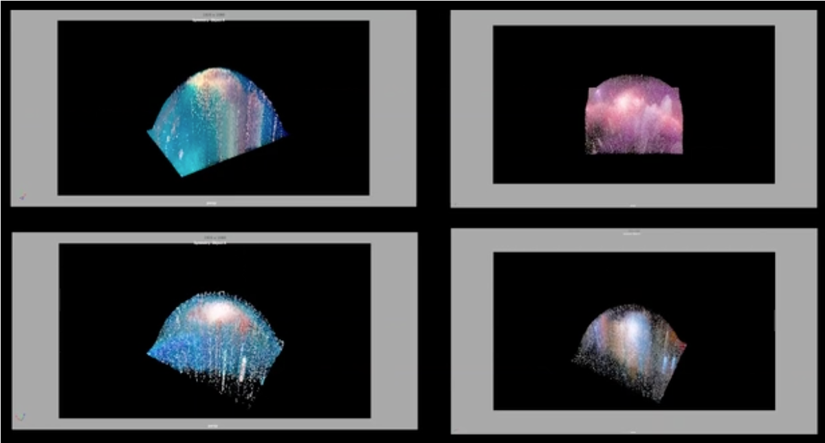 3d galaxy images from video link