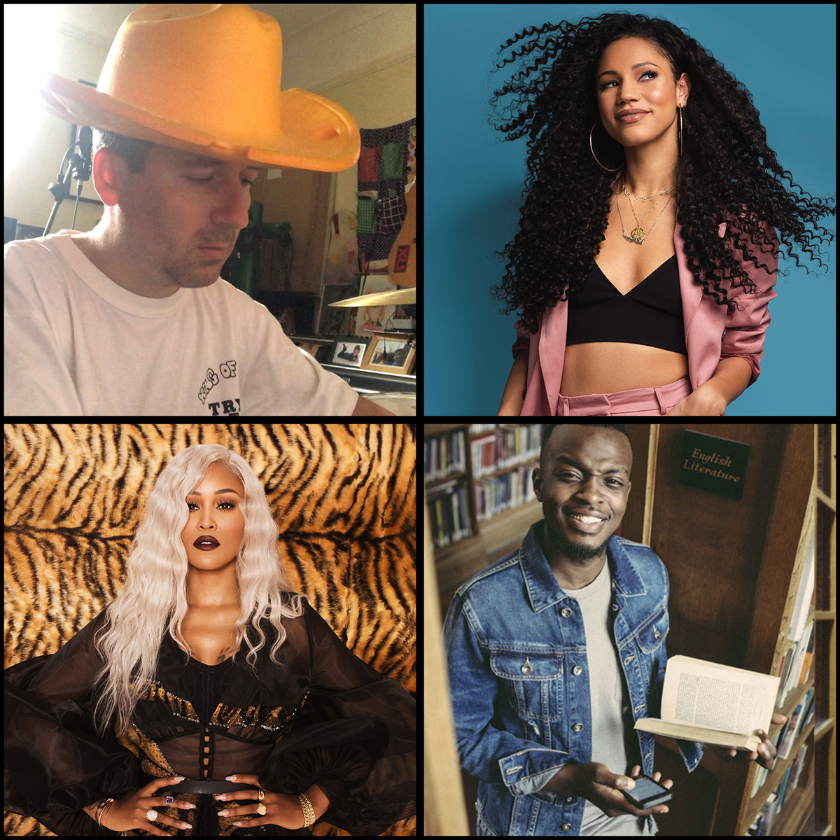 Youth Music Judges: Alexis Taylor, Vick Hope, Eve, George the Poet