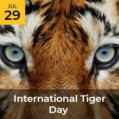 JUL 29 - International Tiger Day