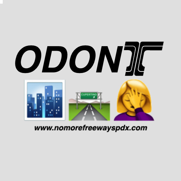 "Graphic says ""ODONT"" and features NMF logo"