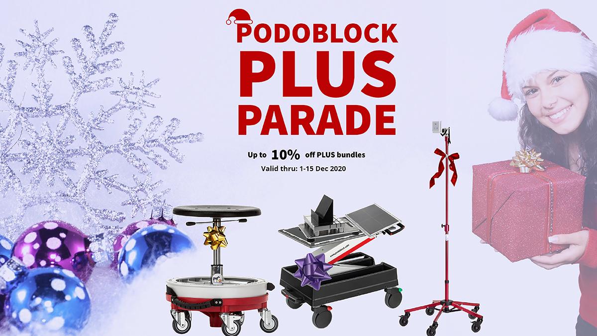 Podoblock Plus Parade Promotion