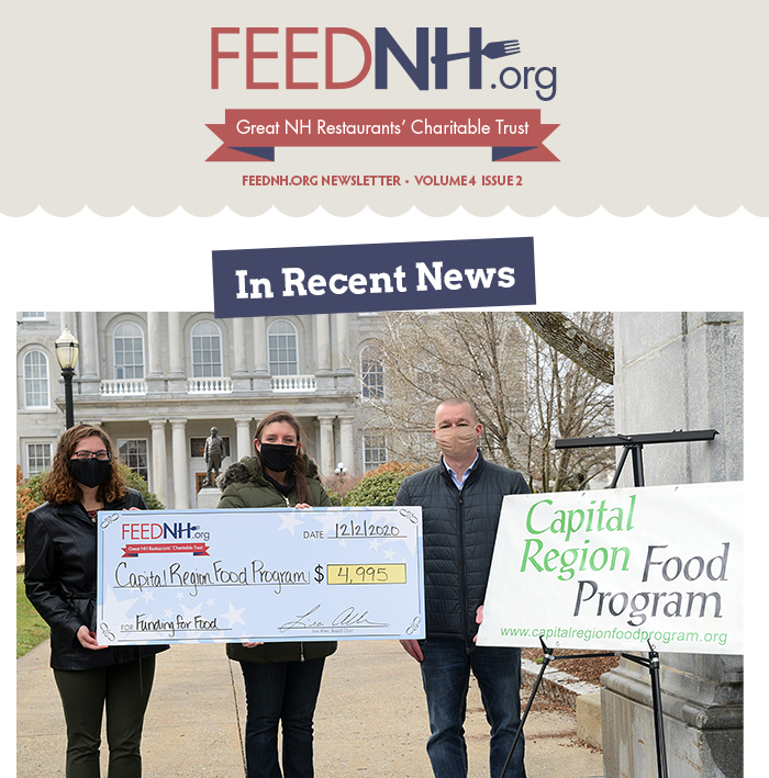 FEEDNH.org Newsletter. Volume 4 Issue 2