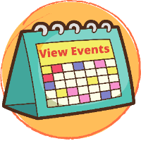calendar with label that says view events
