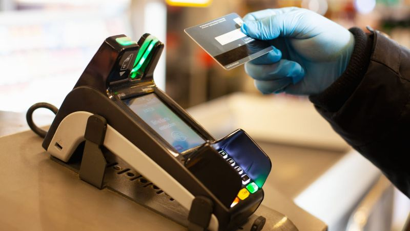 Half of Payments Now Contactless