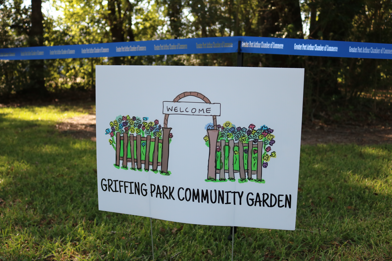 Griffing Park Community Garden Logo