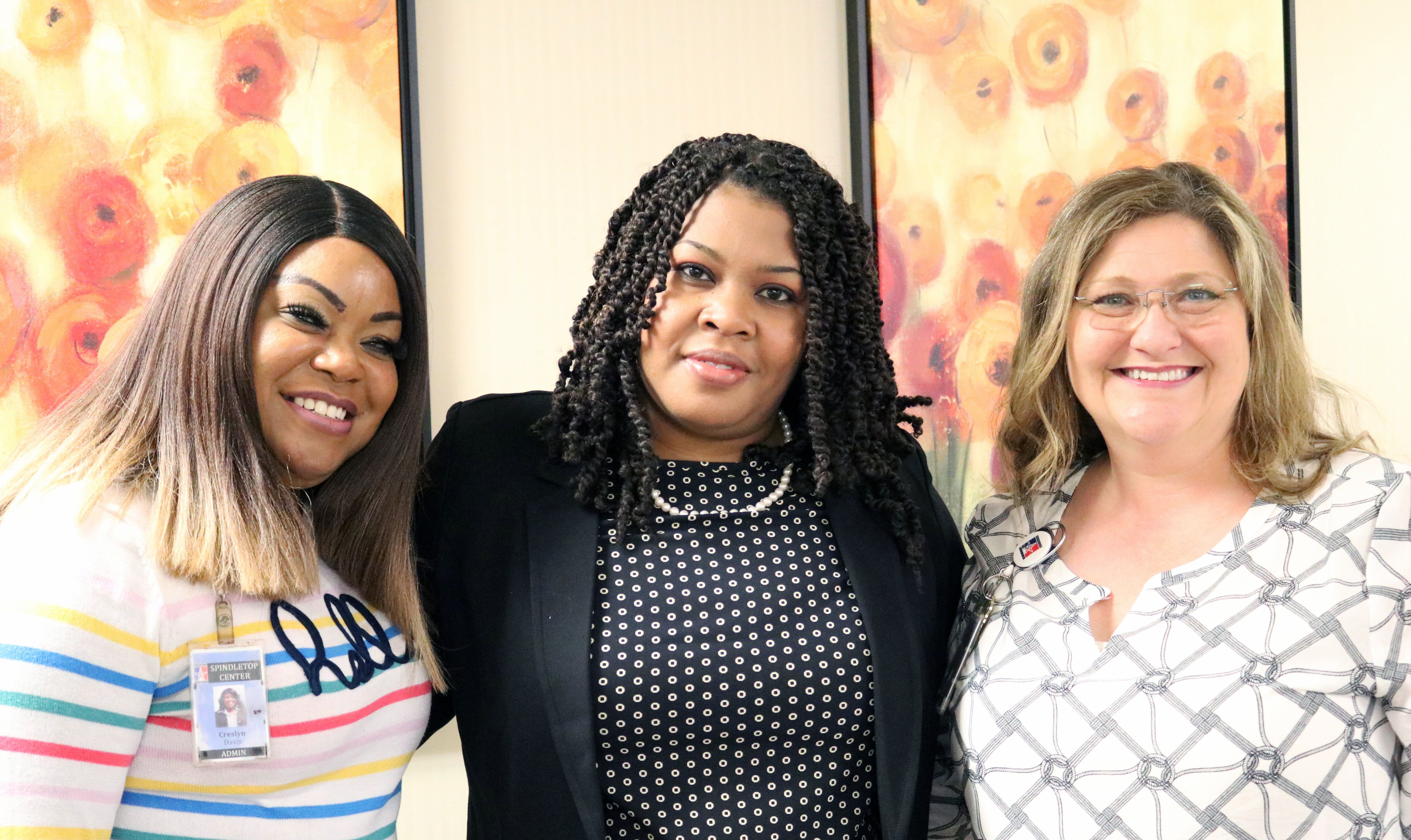 Creslyn Davis, Dr. Dana Johnson, Denise LeBlanc