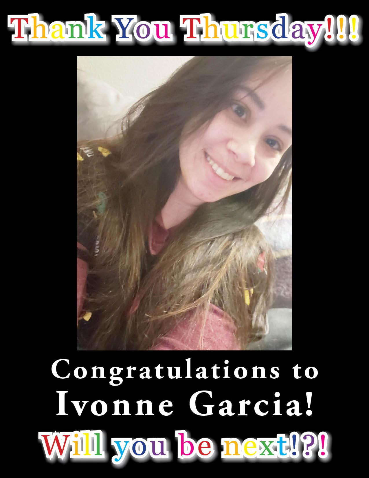 Photo of Thank You Thursday recipient Ivonne Garcia