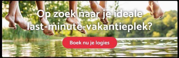 Op zoek naar je ideale last-minute-vakantieplek? Boek nu je logies in Vlaanderen Vakantieland