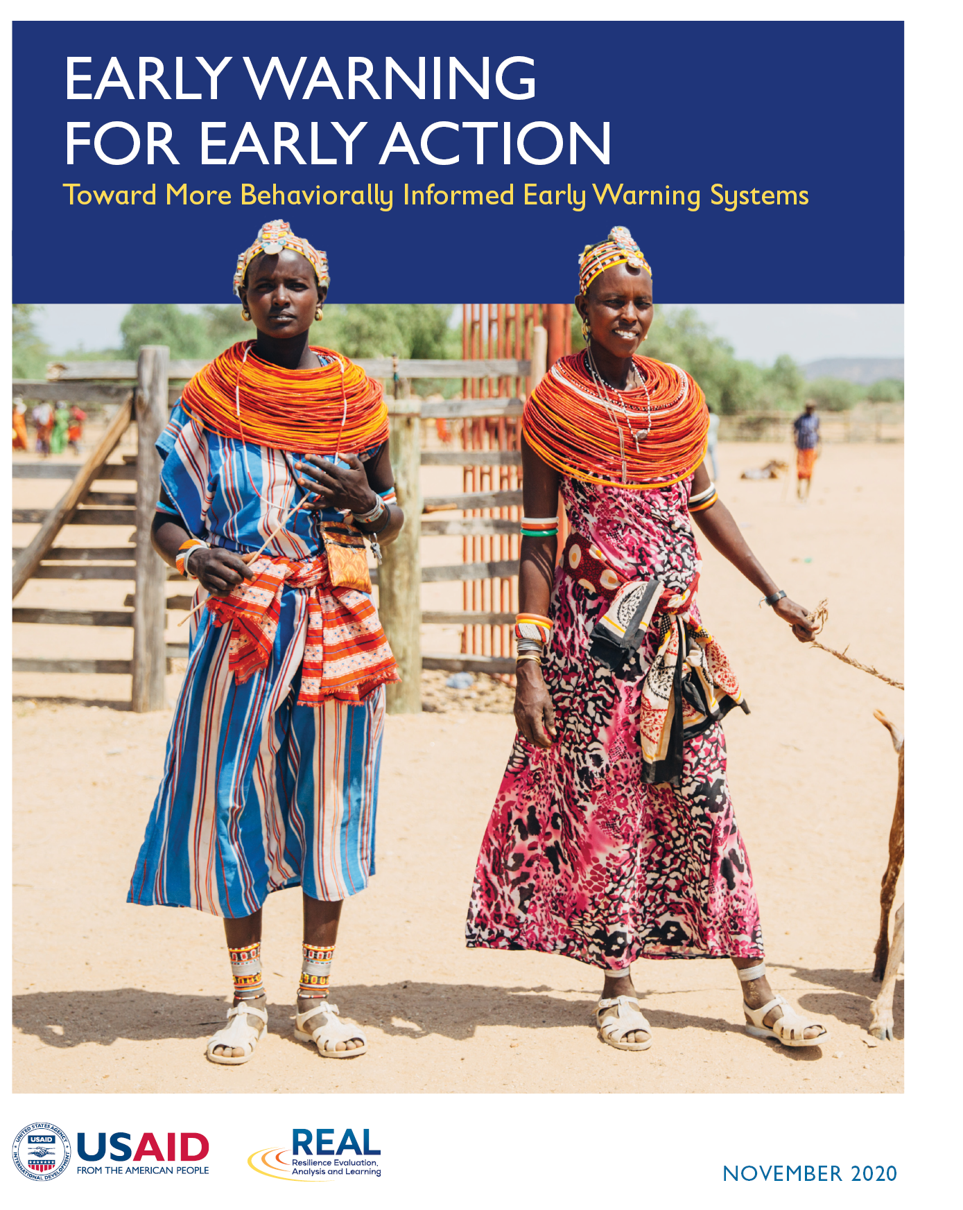 Cover image of Early Warning for Early Action