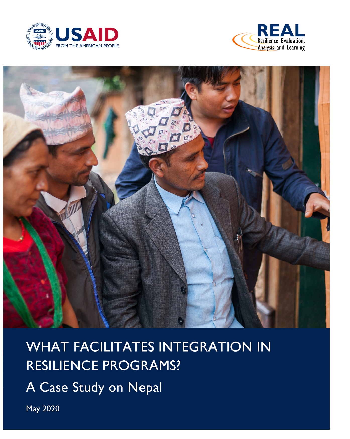 Cover image of a case study on Nepal