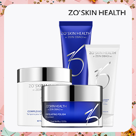 Purchase any 3 ZO® Skin Health Products, Receive a FREE Gift with Purchase ($160 Value!)