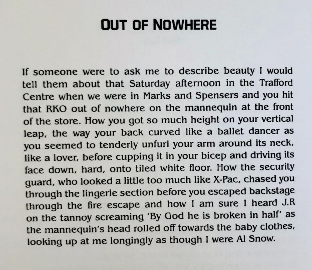 [Out Of Nowhere by Colin Bancroft]