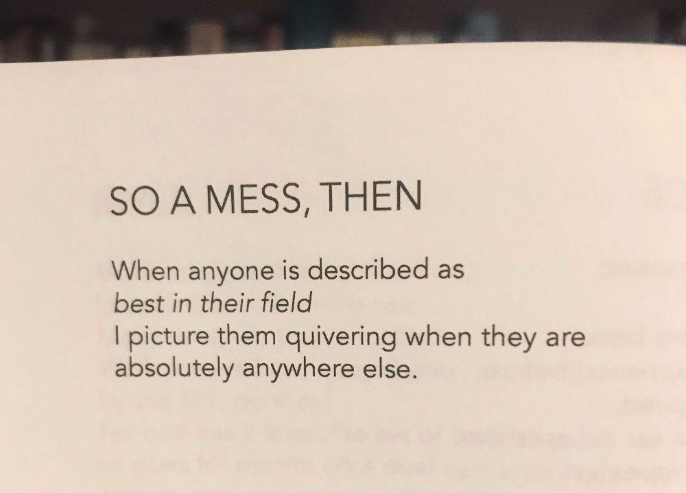 [So A Mess, Then by Erin Bolens]