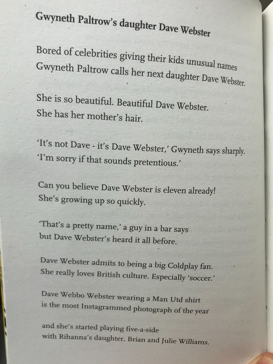 [Gwyneth Paltrow's daughter Dave Webster by John Osborne]