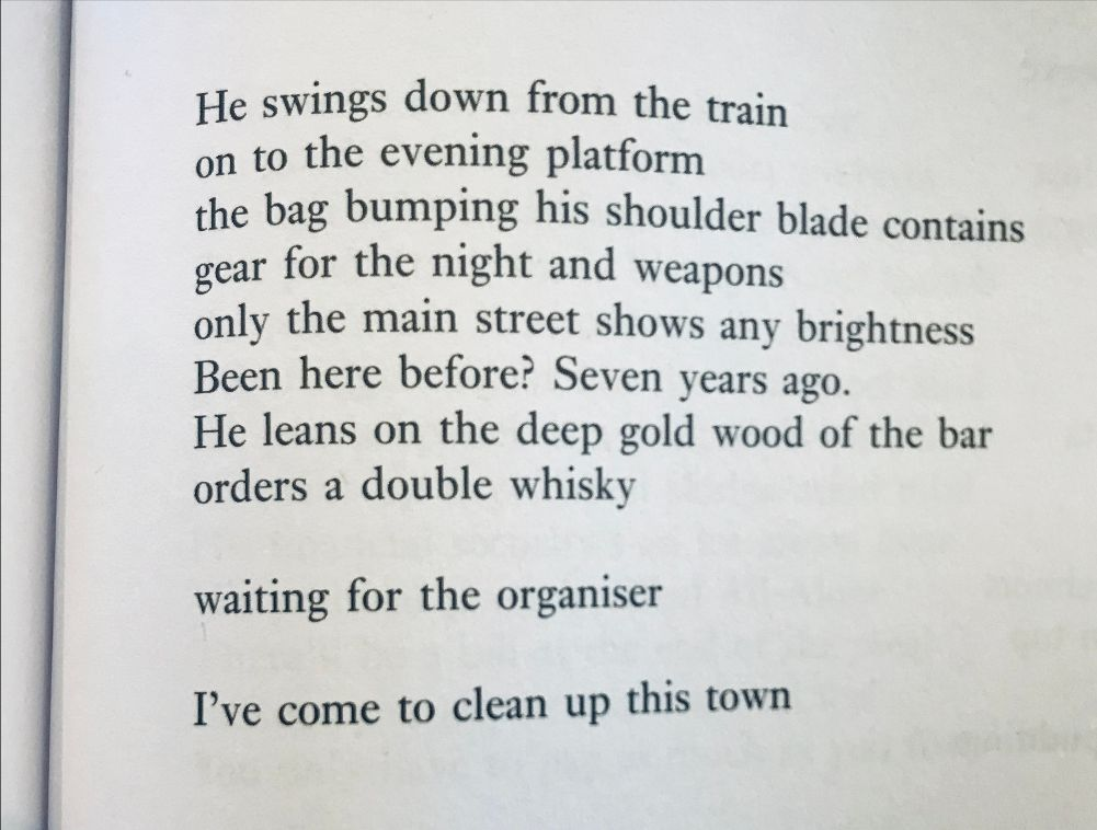 [Poet by Adrian Mitchell]