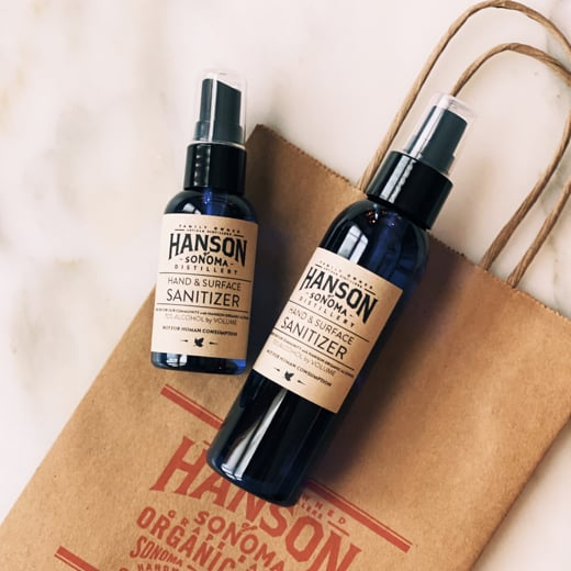 Hanson of Sonoma: From Organic Vodka to Hand Sanitizer