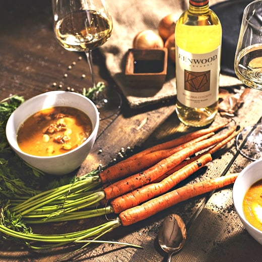 Kenwood Vineyards' Spring Carrot Soup