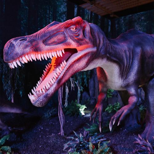 Dinosaurus op Dino World