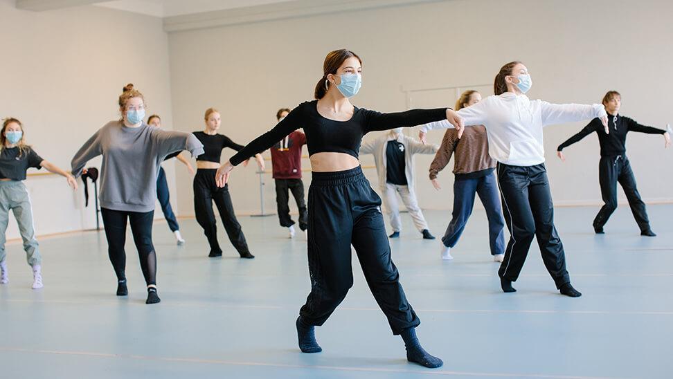 Dansles in de kunsthumaniora