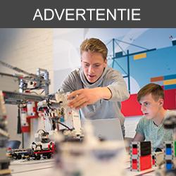 In teams van twee sturen je leerlingen robots aan met het programmeerplatform van LEGO® Education om samen een containerterminal in de haven van Antwerpen te automatiseren.